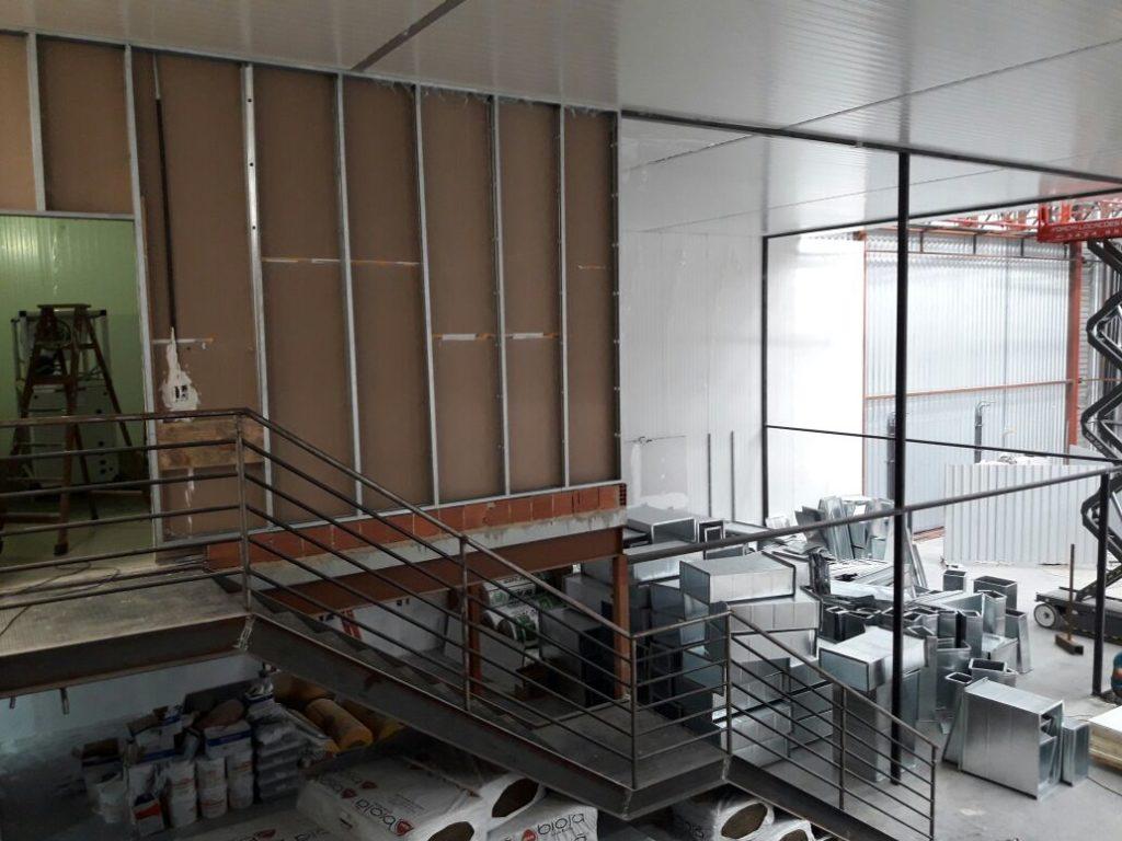 estrutura drywall
