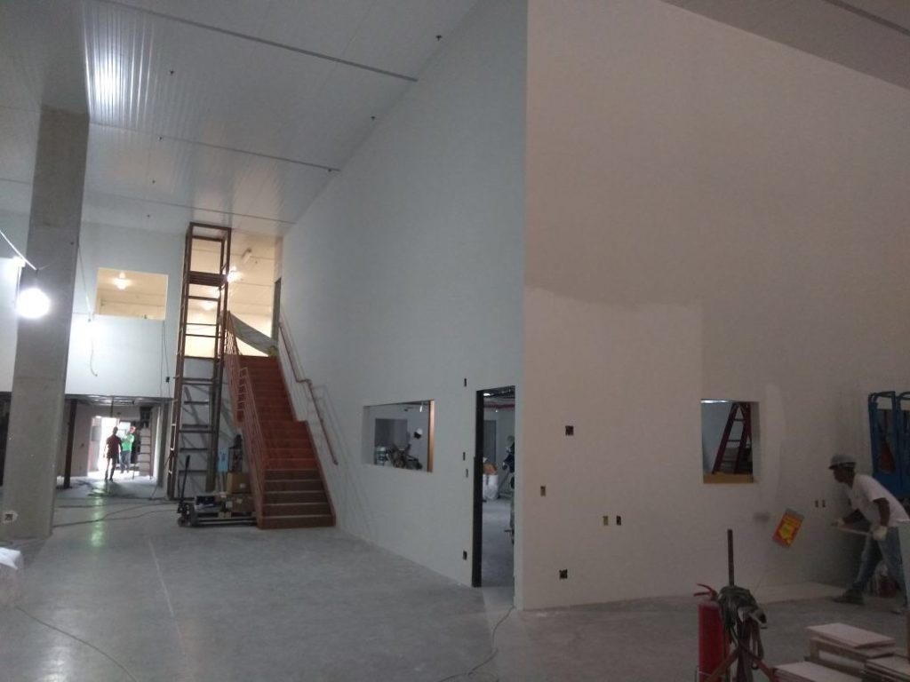 parede drywall de gesso para grande pd